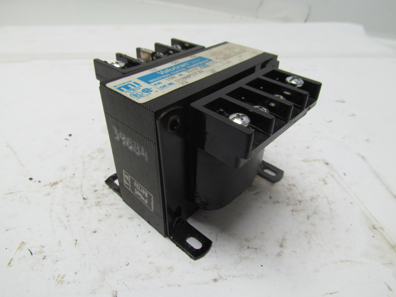 Valutran V100pu7jx Transformer 100kva 240