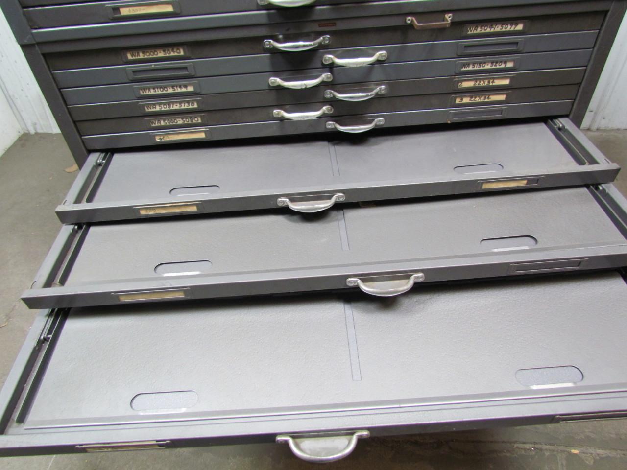 Hamilton flat file blueprint plans map art architect filing hamilton flat file blueprint plans map art architect filing cabinet 20 drawer malvernweather Image collections