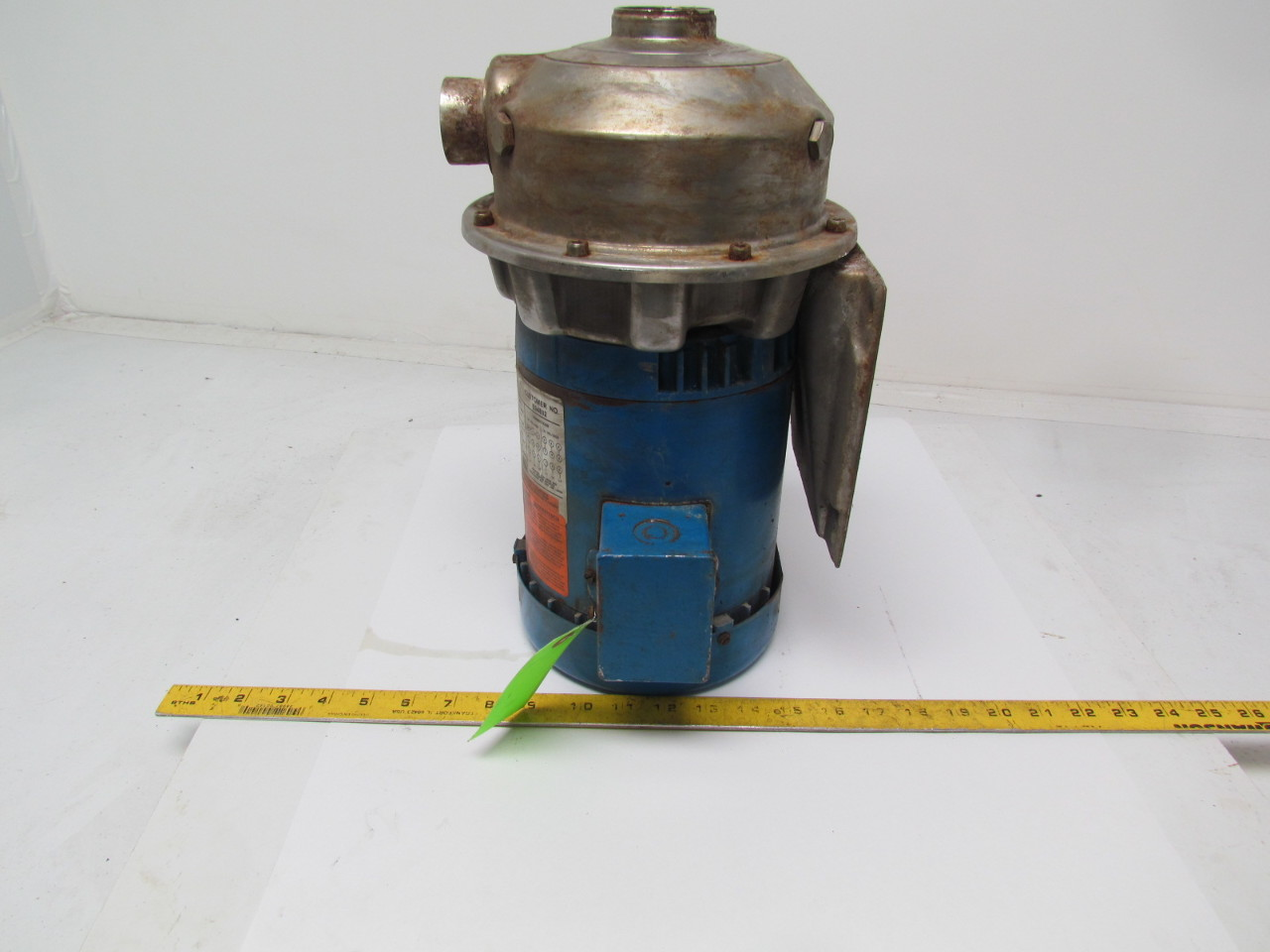 Goulds Pumps 2st2c5g4 Stainless Steel Centrifugal Pump 1
