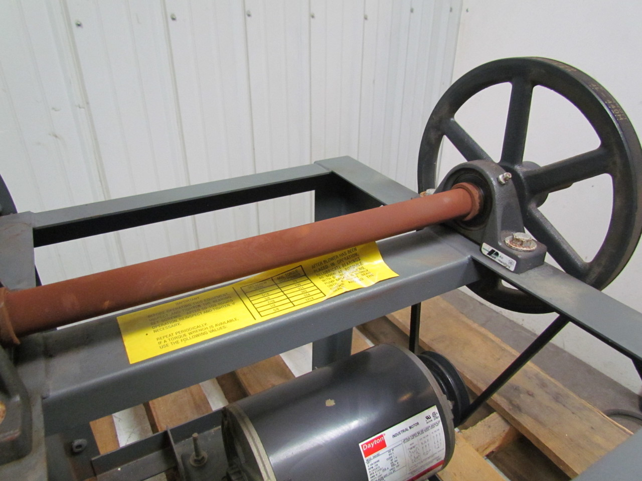 Blower Belt Drive Pressure : Dayton c a quot belt driven foward curve blower w hp