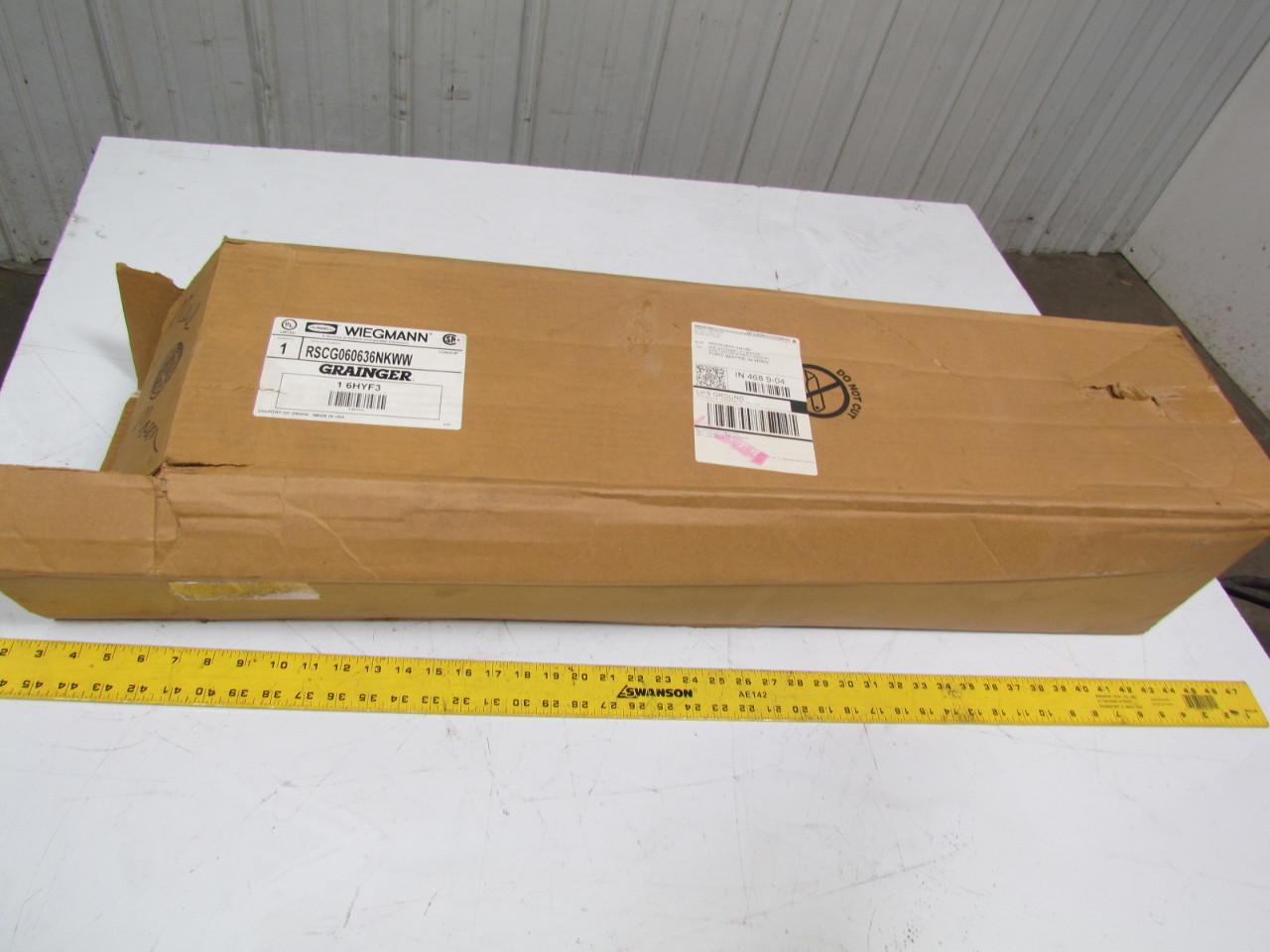 Wiegmann Wiring Trough Diagrams For Dummies Nema 3r Rsc060636nkww Electrical Box Wire