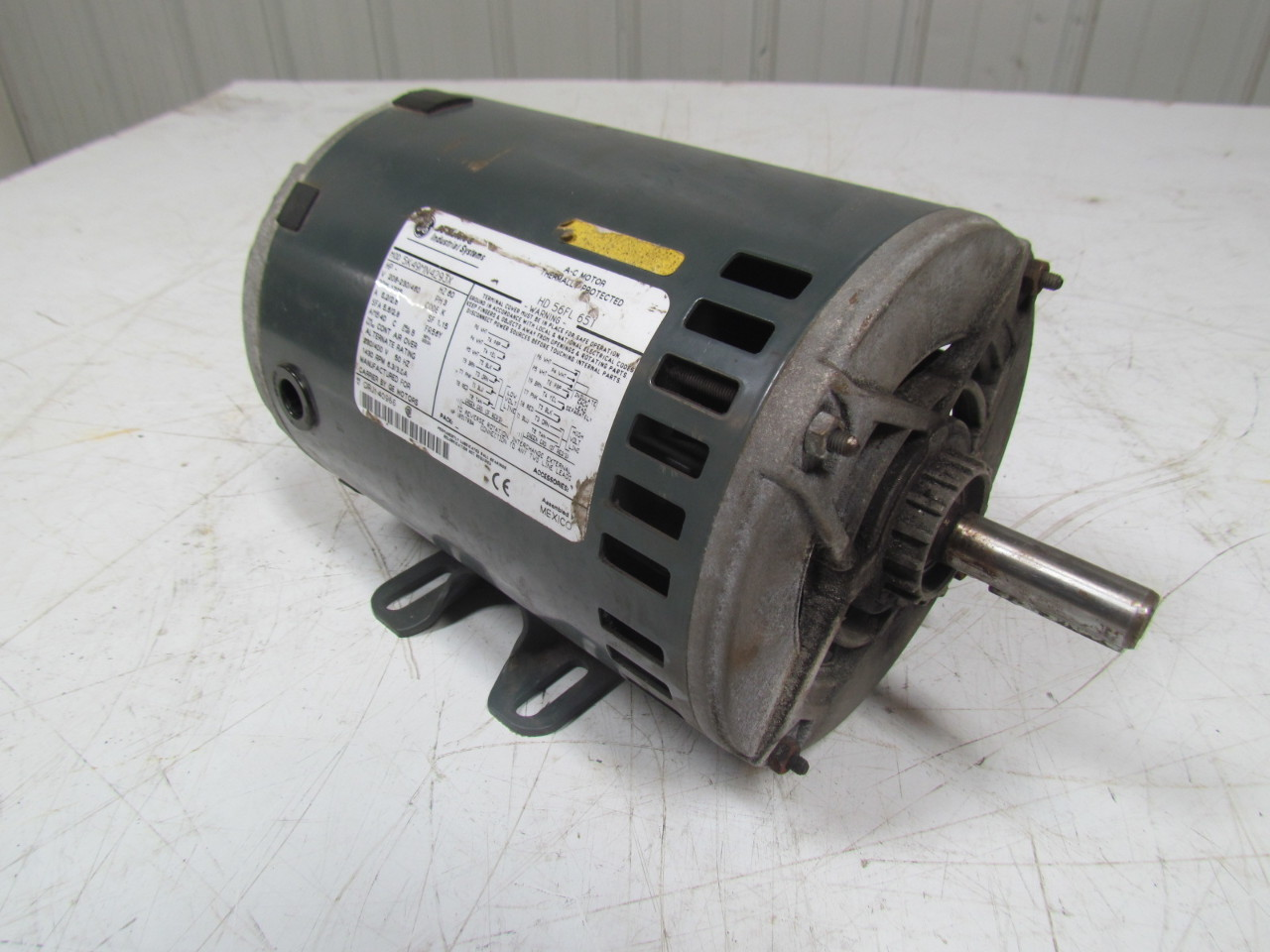 ge 5k49mn4293x thermally protected ac carrier blower motor