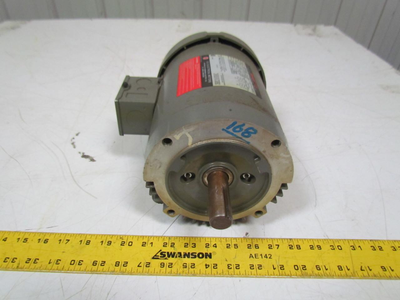 U S Motors F029 1hp Electric Motor 208 230 460v 3ph