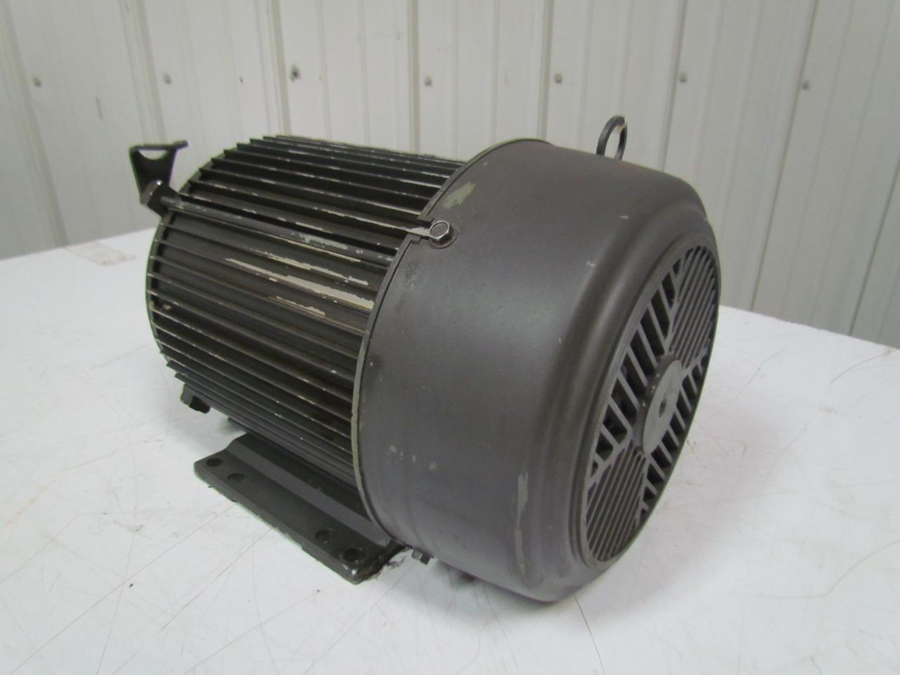 U S Motors H17430a 5hp Electric Motor 208 230 460v 3ph