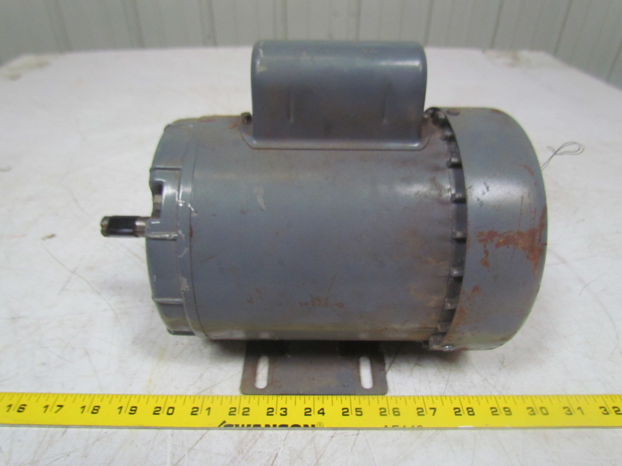 Dayton 5k122 l 1 2hp capacitor ac electric motor 1ph 115 for 1 2 hp ac motor