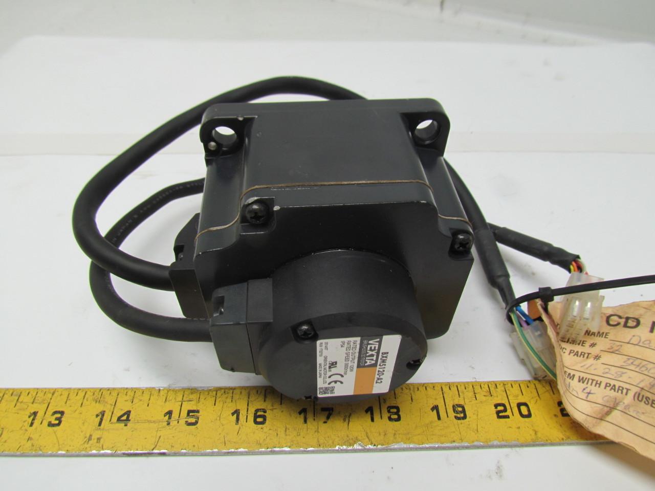 Oriental Motor Vexta Bxm5120 A2 Brushless Dc Motor 120w