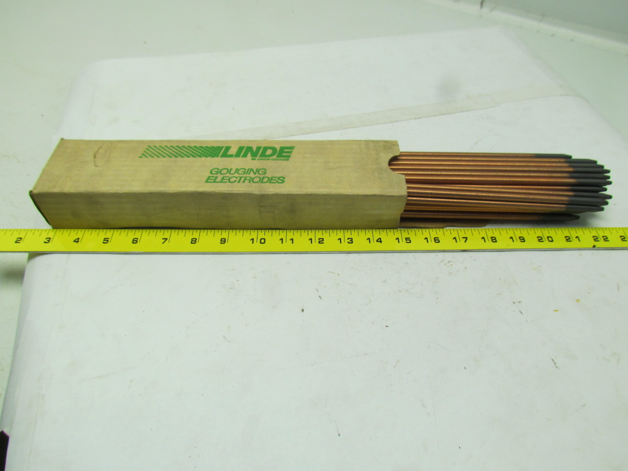 Linde 7012F04 Electrodes-DC copper Coated gouging rod 1/4