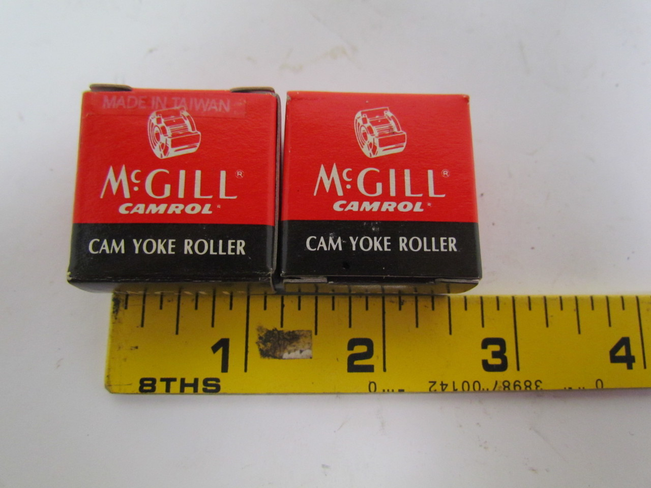 McGill Camrol MCYR 5 SX Yoke type metric camfollower bearings lot of 2