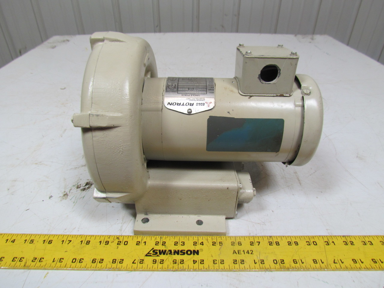 10 Hp 3400 Rpm Single Phase Electric Motor