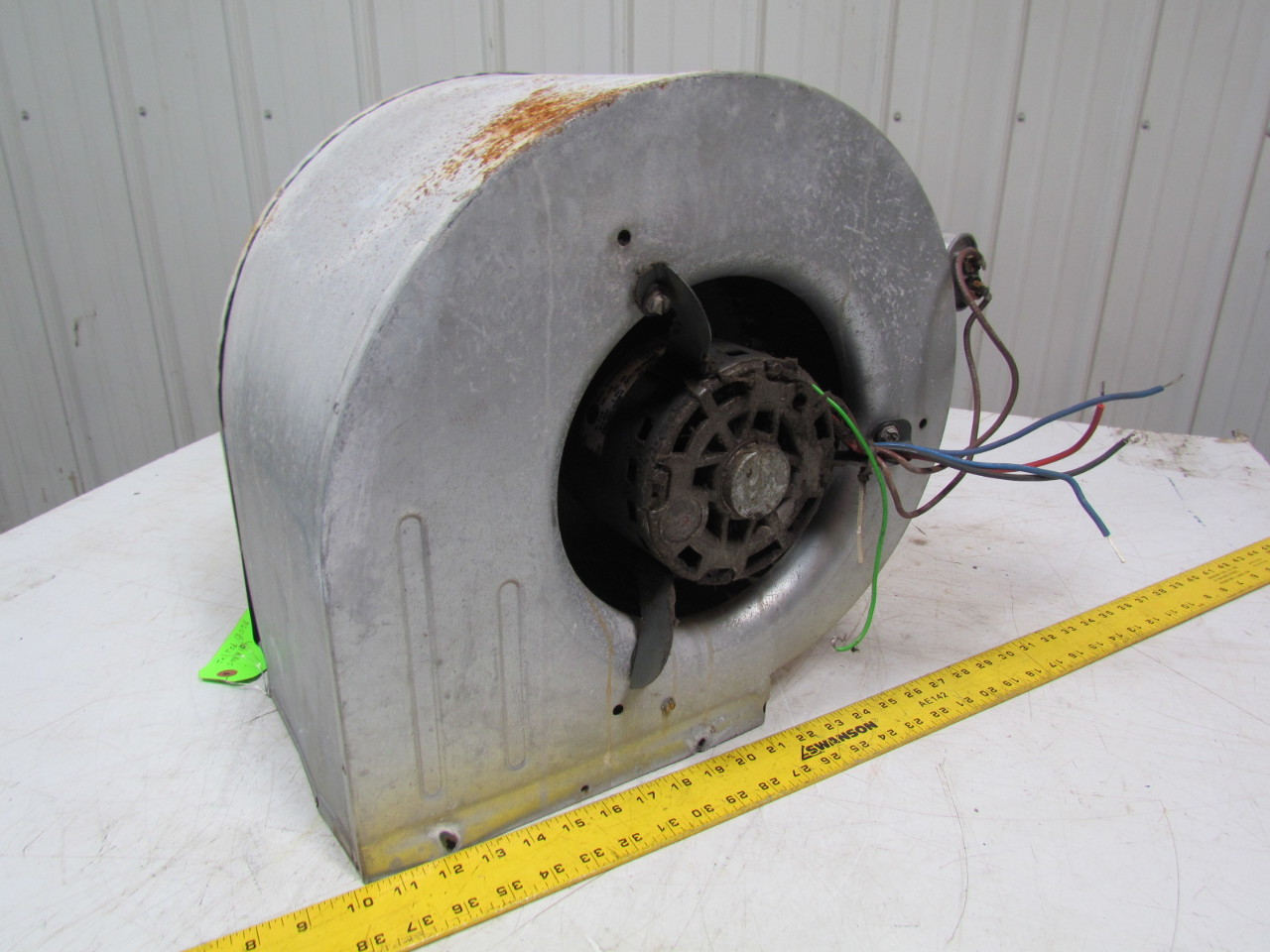 Assembled Furnace Blower 1 2 Hp 115v 1075 Rpm Single Speed