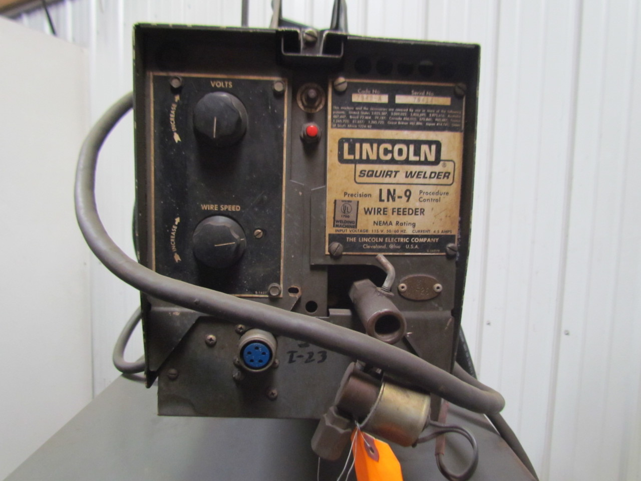76918 lincoln idealarc dc 600 8289m mig welder w ln9 wire feeder 600 amp 230 460v 3ph 9 welder wire feeder dolgular com Boat Wiring Diagram for Dummies at readyjetset.co