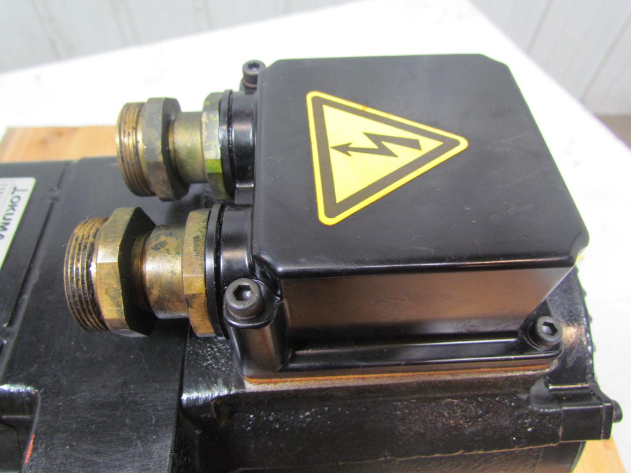 Okuma Bl Mh101e 12tb Bl Motor Servo Motor W Brake 1 2kw
