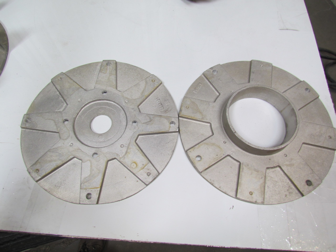 Pressure Blower Wheels : Cincinnati pb a new cast aluminum pressure blower
