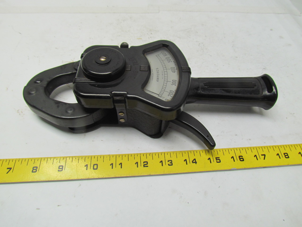 Amp Meter Clamp On : Columbia electric ac dc amp clamp test tongs