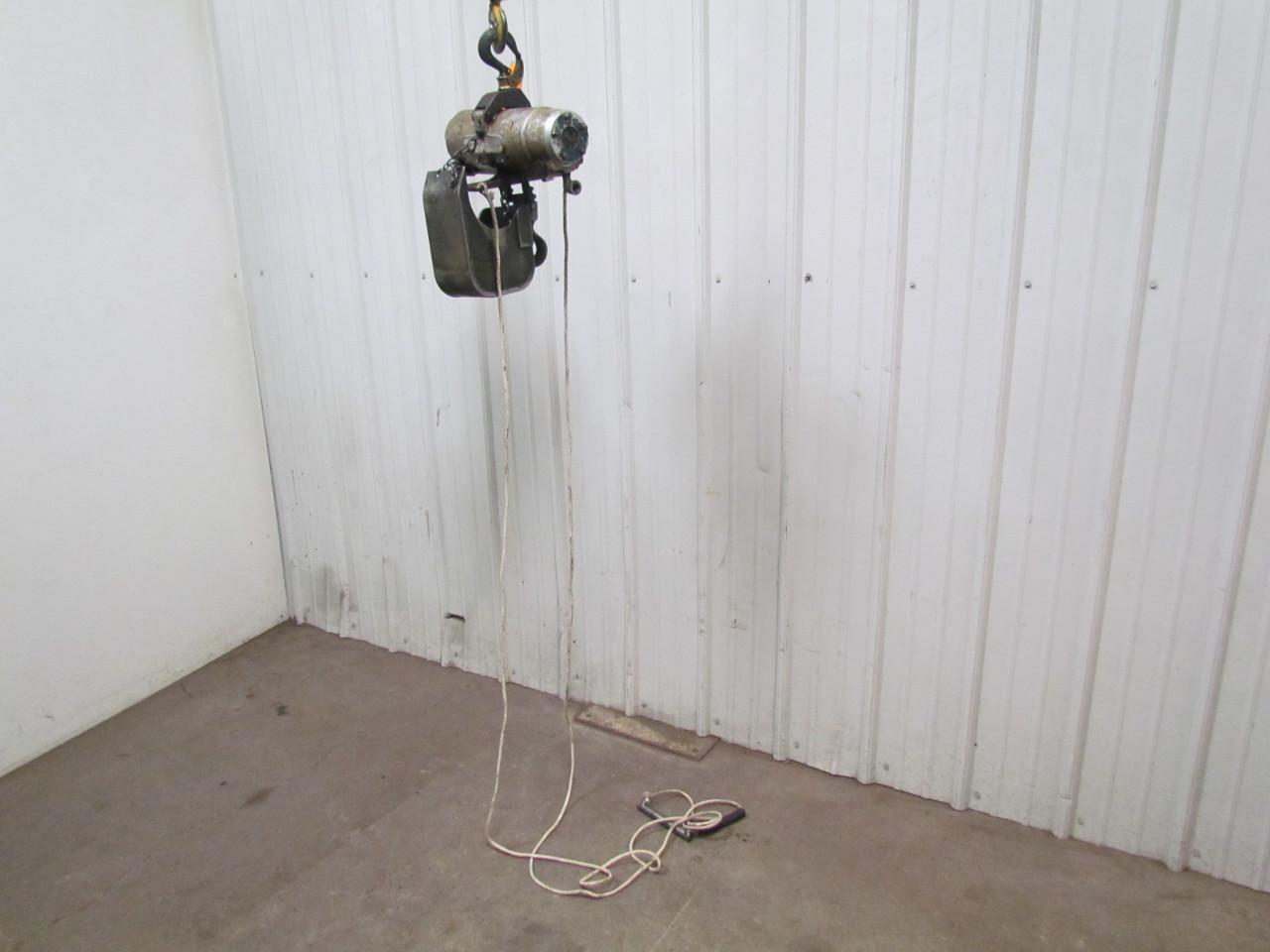 Gardner denver cooper 300lb air pneumatic chain hoist 14 39 6 for Gardner plumbing