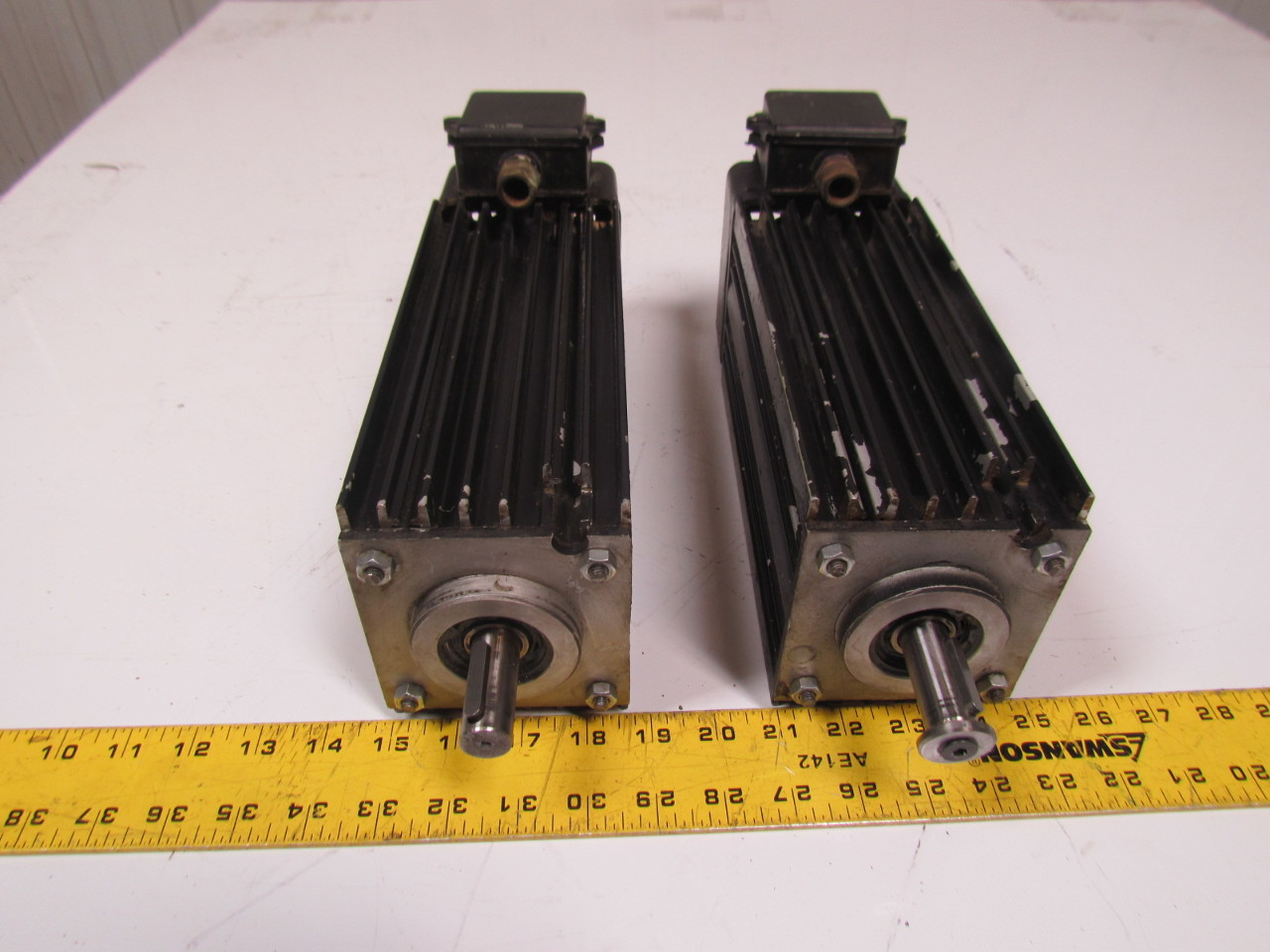 Biesse 1 8hp Servo Motor 330 575v 60hz From Rover Cnc Lot