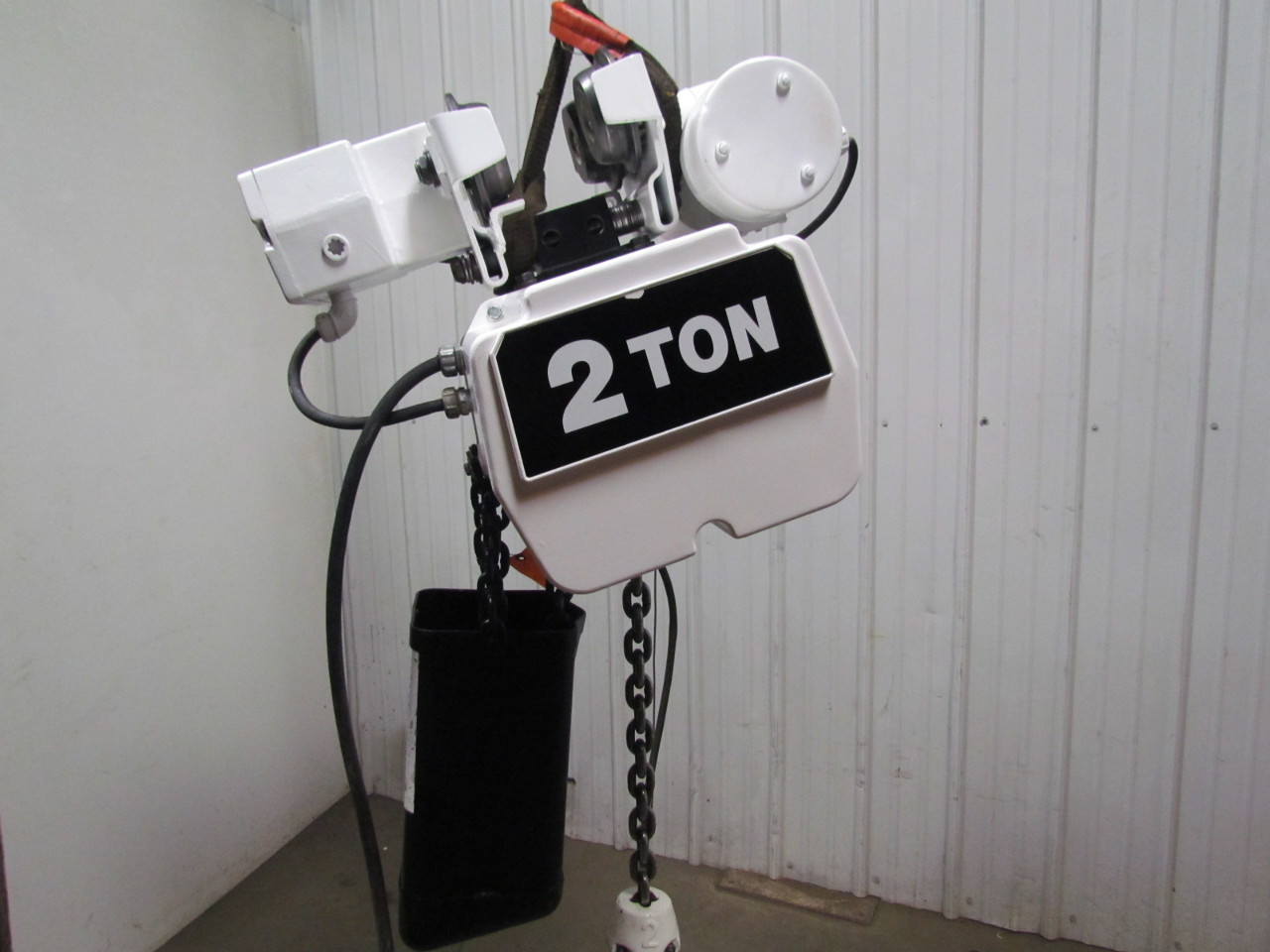 Coffing ec4016 3 2 ton electric chain hoist power trolley for 2 ton hoist with motorized trolley