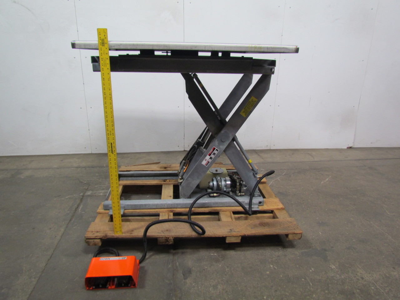 American Lifts T36 044 4000lb Cap Scissor Lift Table 4 X4
