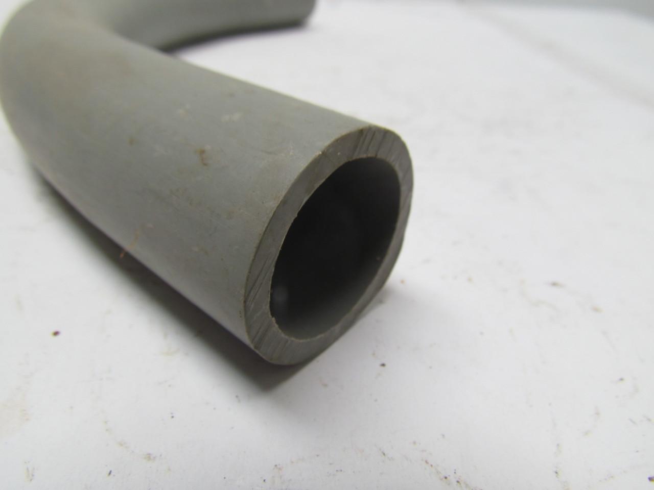 Quot non metallic pvc conduit ° sweep fitting lot of