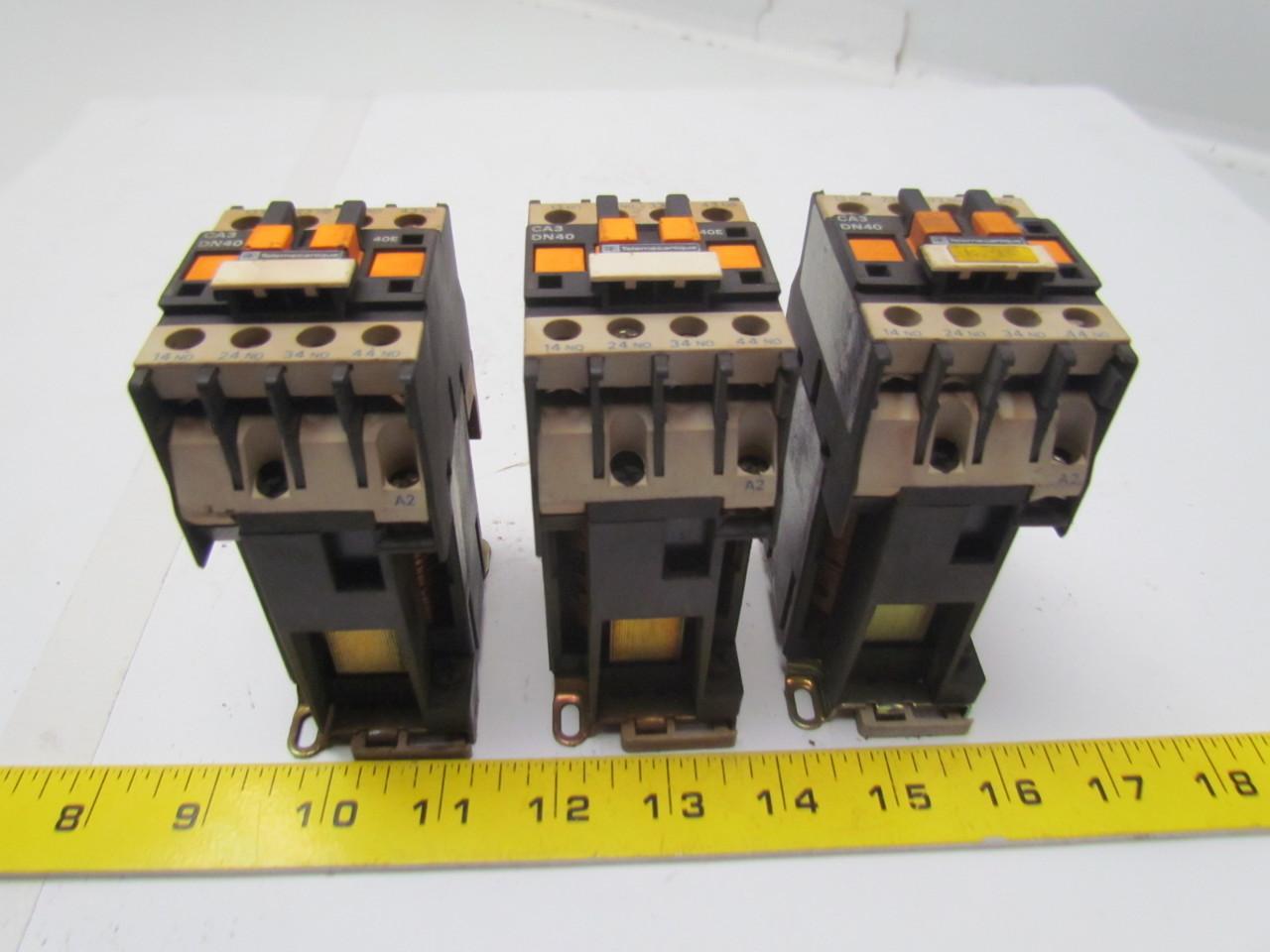 Telemecanique Ca3dn40 Contactor Starter Relay 24v Coil W