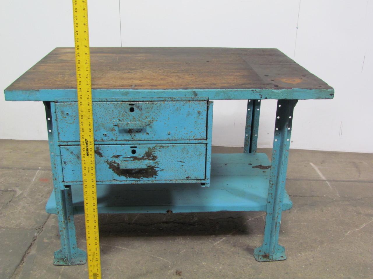 butcher block workbench industrial table kitchen island 48 butcher block workbench industrial table kitchen island 48