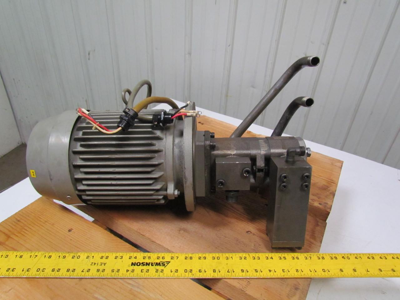 Bomba hidr ulica uchida gsp gsp2 aos12a 06ara0 901 0 for Hydraulic pump and motor combination