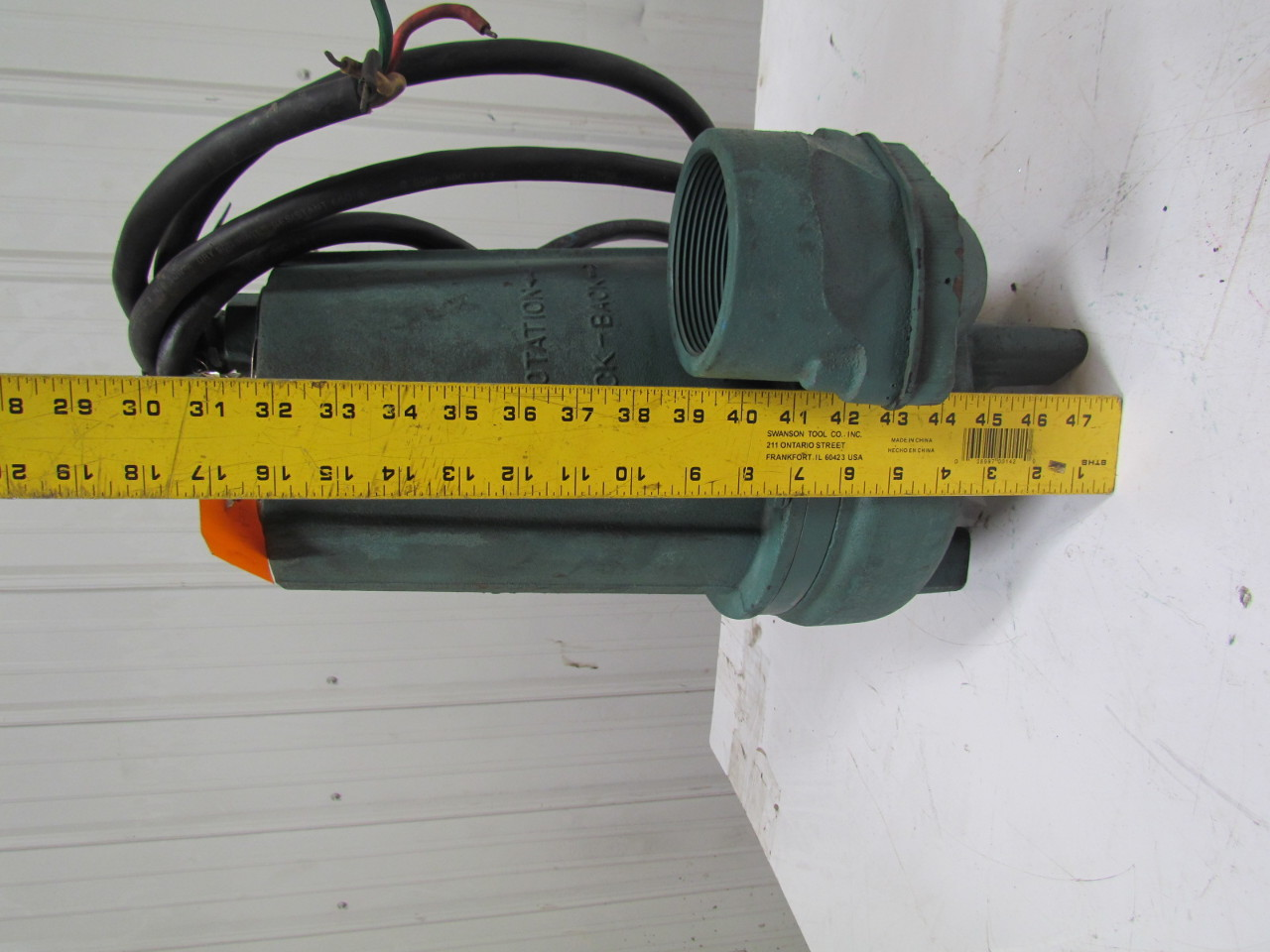 Barnes Pump 3se1044l 1hp Submersible Sump Sewage Effluent
