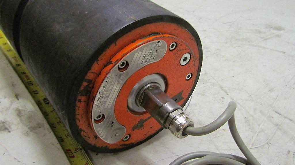 Van Der Graaf Motorized Pulley Drum Motor Tm150b 834 34hp 440v 6 X12 Ebay