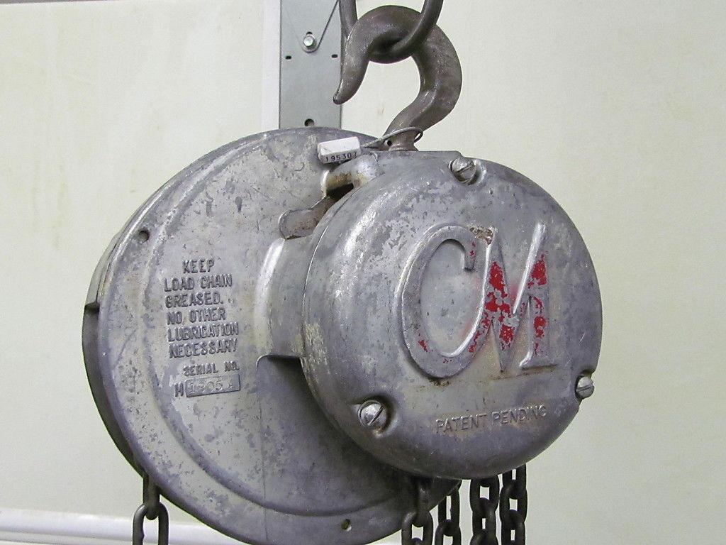 1 2 ton manual chain hoist