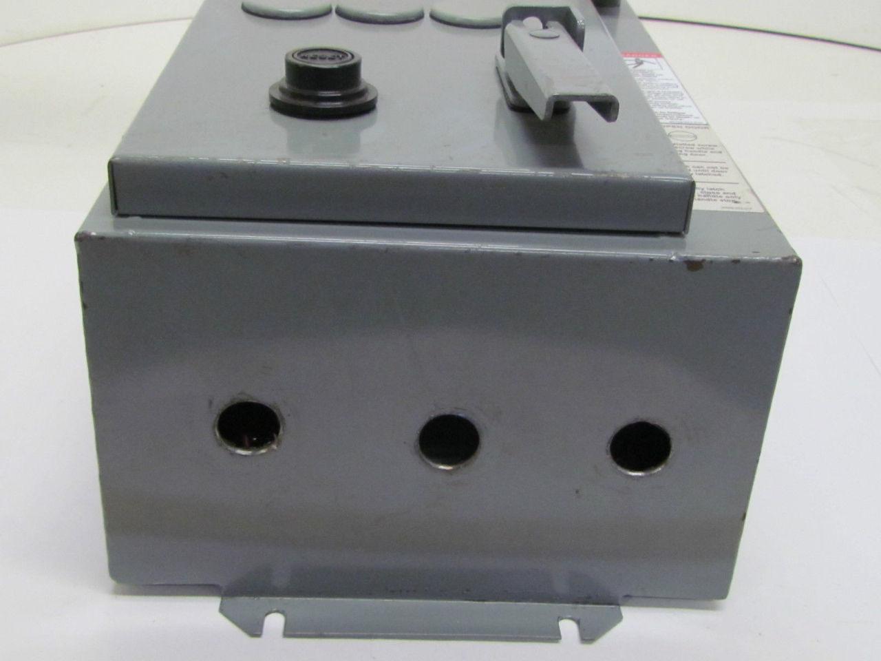 Square D 8538sca14v81f4t Size 1 Combination Motor Starter