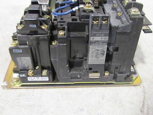 A B Allen Bradley 505dc M A27880 Size 1 Motor Starter Ebay