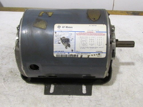 Ge Motors 5k43mg3000 1 2hp 1140rpm 3ph 56 Frame Motor Ebay