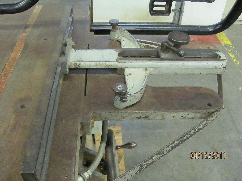 Northfield foundry machine 16 5hp 3 phase industrial duty table saw w fence ebay Table saw fence