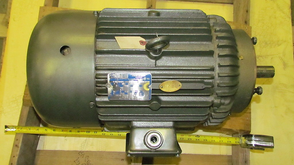 Lincoln electric 5hp premium efficiency 3ph 460v 254 uc for 5hp 3ph electric motor
