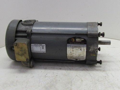 Boston gear baldor 34 5990z17961 1 2 hp 56c 90vdc motor ebay for Baldor gear motor catalog