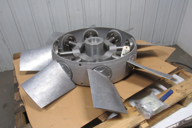 Variable Pitch Fan : Blade aluminum variable pitch axial flow fan