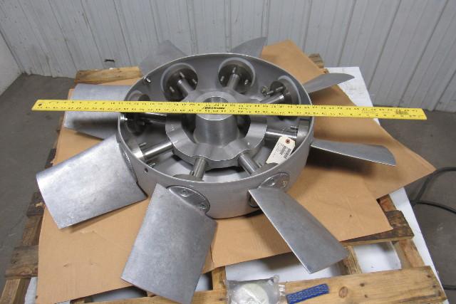 Axial Flow Fan Blade : Blade aluminum variable pitch axial flow fan