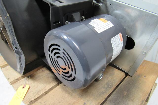 Dayton 4c661b 18 Quot Tubeaxial Exhaust Fan W 3 4hp 3ph