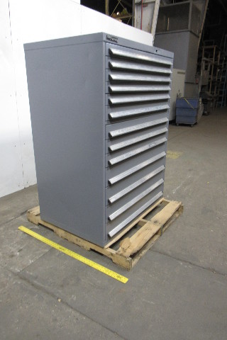 Bott Kennedy 13 Drawer Steel Industrial Tool Blueprint