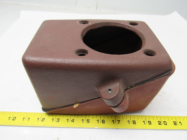 Cast Iron Electric Motor Terminal Conduit Box W Cover