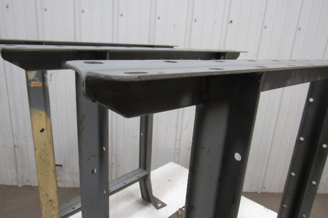 Vintage Industrial Steel Shop Table ...
