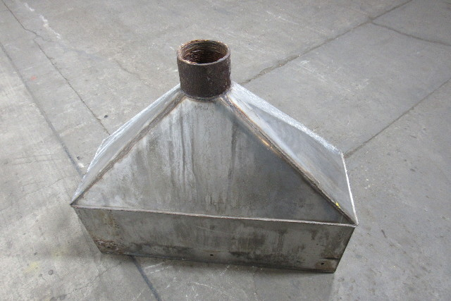 34 U0026quot  Hood Stainless Steel Fume Exhaust Hood Vent Vacuum
