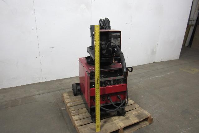 Lincoln cv300 ln 7 welder feeder gun wire tested ready for Lincoln welder wire feed motor