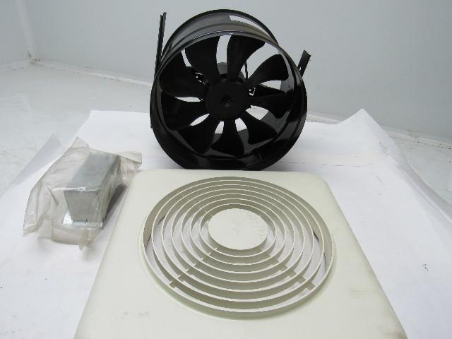 Gentil Broan Model 504 10 Inch Vertical Discharge Bath Kitchen Utility Fan 350 CFM