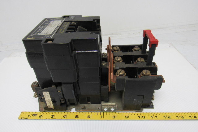 Square d 8536seo1 ser a size 3 motor starter contactor w for Class 1 div 2 motor starter
