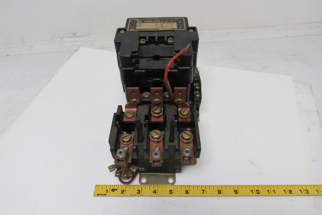 Square D 8536seo1 Ser A Size 3 Motor Starter Contactor W