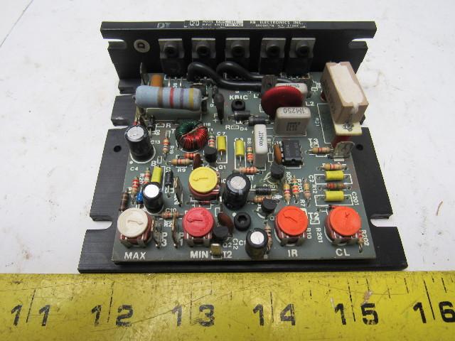 Kb Electronics Kbic 125 Scr Dc Motor Speed Control 115v 0 90 Vdc Motor Voltage Bullseye
