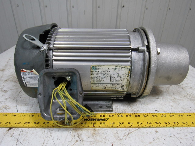 Emerson electric u3e2dc af11 3 hp 208 460 vac 1765 rpm for Emerson electric motor parts
