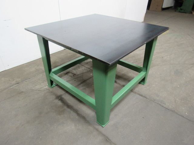 Steel Welding Work Bench 48 1 2 Quot X 48 Quot X 3 4 Quot Thick Top