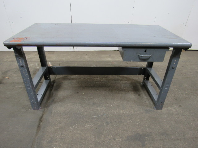 60 X28 Work Assembly Inspection Table Bench Butcher 1 3 4 Block